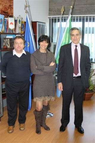 Mayor Silvano Delzotto, Eloisa Bortolan GeTur and Marchioni Pietro