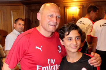 Pietro Vierchowod at the AC Milan Academy Camp Sporteventi